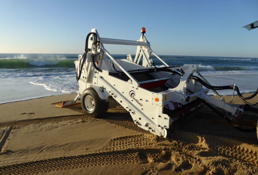 strandreinigung T160